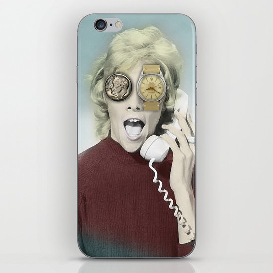 time goes by iPhone & iPod Skin