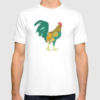 Greg Mens Fitted Tee White SMALL