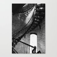 Spiralling Up Canvas Print