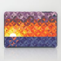Kaleidoscope Sunset iPad Case