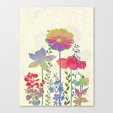 Flower Tales 4 Canvas Print