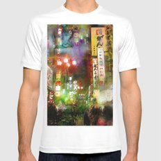 Just one street Mens Fitted Tee White SMALL