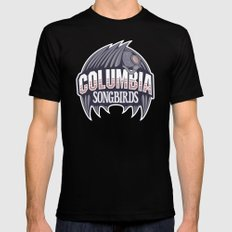 Columbia Songbirds Black Mens Fitted Tee SMALL