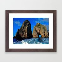 Amalfi Coast Framed Art Print