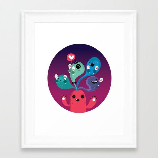 We love Fiesta Framed Art Print