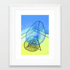Chair & Chair Alike. Framed Art Print