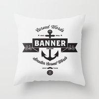 I'm Not A Hipster Throw Pillow