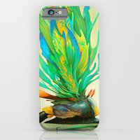 iPhone & iPod Case featuring Feathered Tethridon by Mark Facey