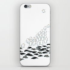 suit down iPhone & iPod Skin