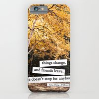perks of being a wallflower - life doesn't stop for anybody iPhone 6 Slim Case