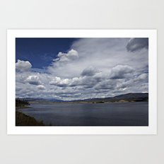 Lake Granby Under a Stormy Sky Art Print