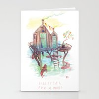 A While Stationery Cards