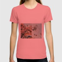Little Italy Womens Fitted Tee Pomegranate SMALL
