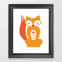 Ferdinand The Fox Framed Art Print