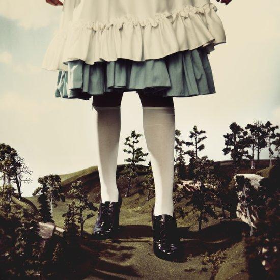 TomFeiler_Alice in Wonderland_Alice's legs Art Print