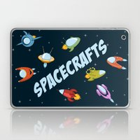 Spacecraft And Rockets F… Laptop & iPad Skin