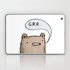 Growling Bear Laptop & iPad Skin