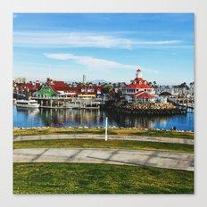 Shoreline Village Canvas Print