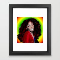 Donna Summer Framed Art Print