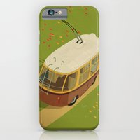 iPhone & iPod Case featuring Trolley Rides The Field by Anton Marrast