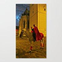 Devil At Midnight Canvas Print