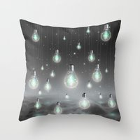 Throw Pillow featuring Shine From Within (Shine Bright Series) by soaring anchor designs
