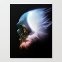 Spirit of a weary mind Canvas Print