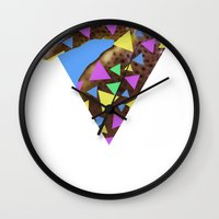 Sea Foam Smoothies Wall Clock