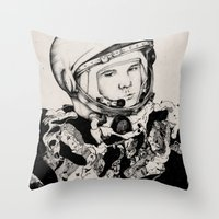 From Gagarin's Point Of … Throw Pillow