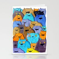 The Cats Of Verdun Stationery Cards