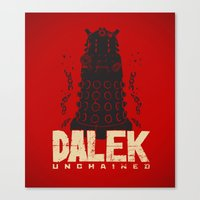 Dalek Unchained Canvas Print
