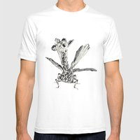 Fly Fly Fly Mens Fitted Tee White SMALL