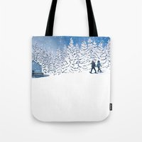The Fools on the Hill Tote Bag