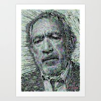 Anthony Quinn -Sketch Art Print