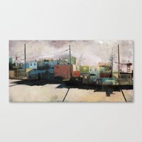 Charm City, MD Canvas Print