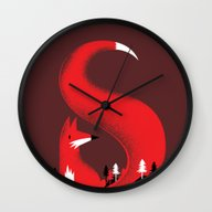 S Like Fox Wall Clock