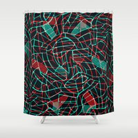 - octopusly - Shower Curtain