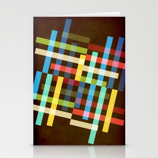 Up and Sideways Stationery Card