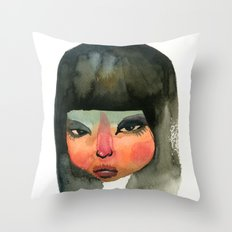 Beauty No.1 Throw Pillow