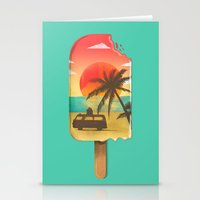 Vacation Time Stationery Cards
