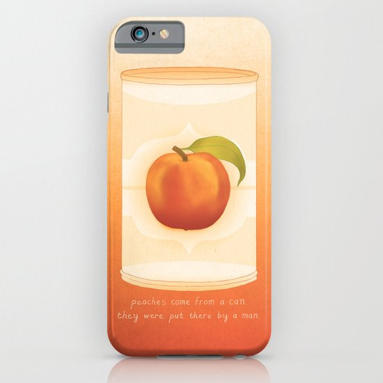 Peaches iPhone & iPod Case