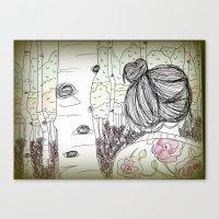 An Ode to Autumn Canvas Print