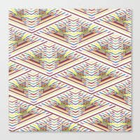 Canvas Print featuring pattern by Jorge Reynoso