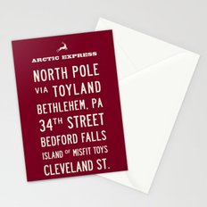 Arctic Express Christmas Stationery Cards