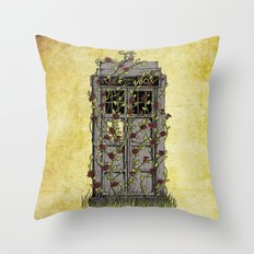 Rose- Doctor Who Throw Pillow