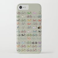 bicycle iPhone & iPod Cases featuring Bicycle by Wyatt Design