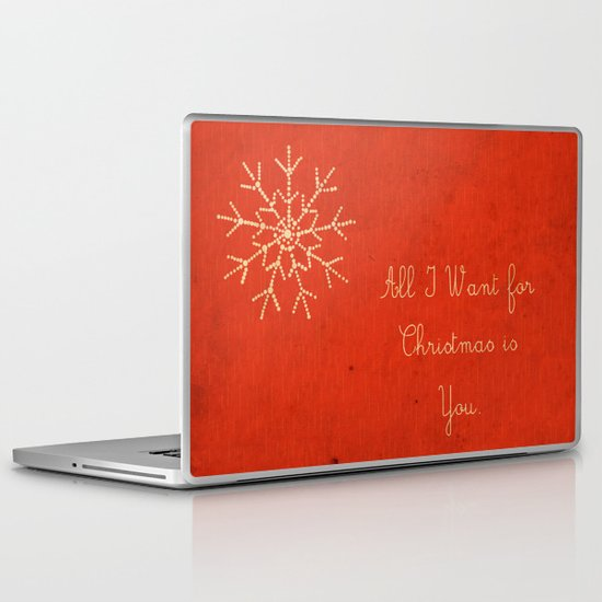 For Christmas! Laptop & iPad Skin
