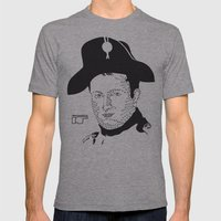Napoleon Bonaparte Mens Fitted Tee Athletic Grey SMALL