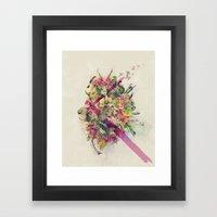 Kingdom of Monarchs  Framed Art Print