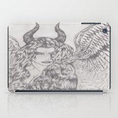 angel or demon iPad Case